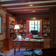 Traditional Home Office by Monarch Renovations