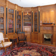 Traditional Home Office by Metropolitan Woodworking