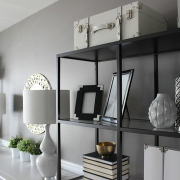 Turning a Dining Room into a Home Office