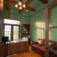 Traditional Home Office by Gander Builders