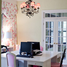 Traditional Home Office by Emerald Hill Interiors