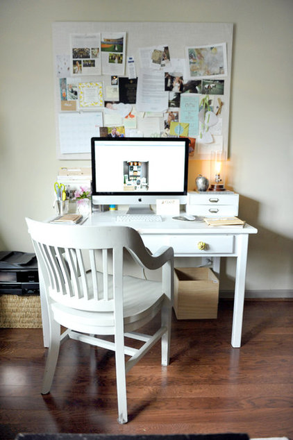 eclectic home office by Two Ellie