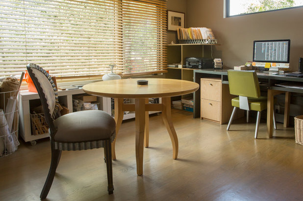 Home Office by Margot Hartford Photography