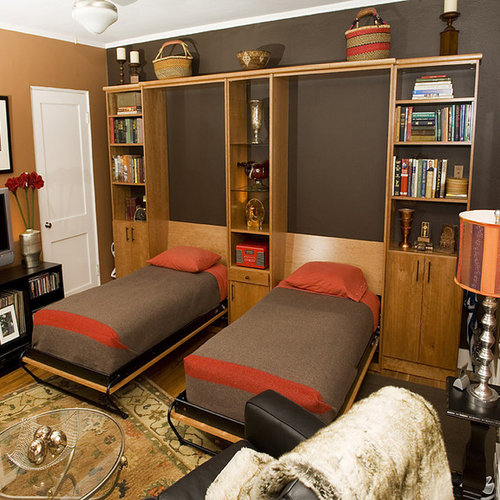wall bed office. exellent office example of an eclectic home office design in san francisco for wall bed office