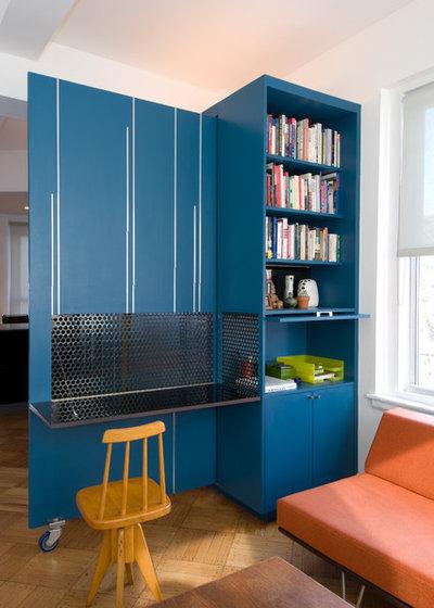 Modern Arbeitszimmer by Michael K Chen Architecture