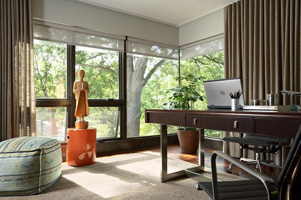 Modern Home Office by David Heide Design Studio