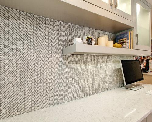 Moderne arbeitszimmer mit eckkamin ideen design bilder - Wandfarbe arbeitszimmer ...