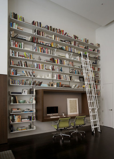 Contemporary Home Office by DHD Architecture and Interior Design