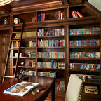 Lake View Luxury Home - Transitional - Home Office - Minneapolis - by JALIN Design, LLC