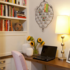 Farmhouse Home Office by REFINED LLC
