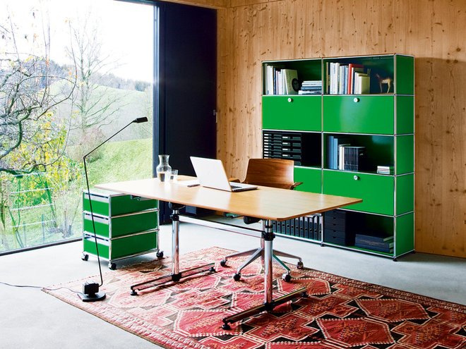 Contemporary Home Office by Haute Living