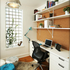 Contemporary Home Office by Jared Sherman Epps
