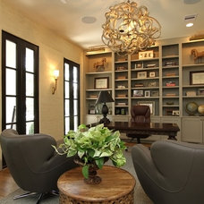 Contemporary Home Office by Cason Graye Homes