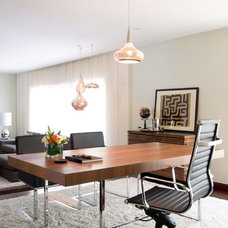 Contemporary Home Office by Biondi Decor
