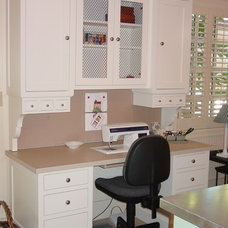 Traditional Home Office by Eagle Designs and Woodworking, Inc.