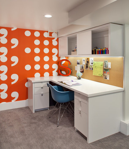 Contemporary Home Office by Josh Partee | Architectural Photographer