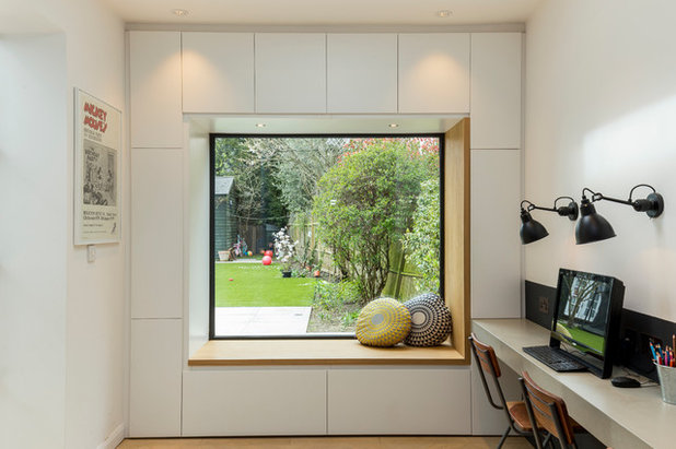Contemporary Home Office by Chris Snook