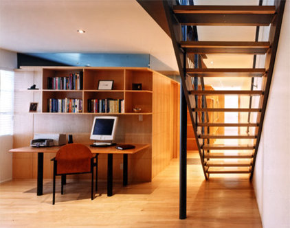 modern home office Veverka Architects