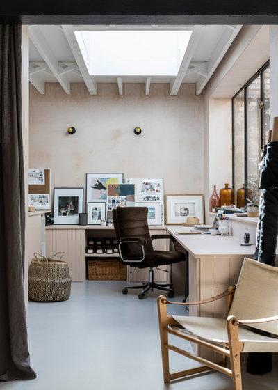 Industriel Bureau à domicile by Imperfect Interiors