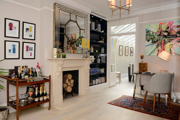 Contemporary Home Office by Potter London