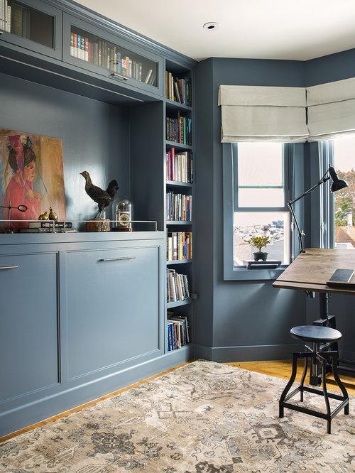 Klassische arbeitszimmer mit studio ideen design bilder for Arbeitszimmer wandfarbe