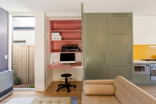 Ricavare spazio per il computer in un insolito angolo di casa for Mobile computer a scomparsa