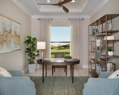 Transitional Home Office transitional home office ideas & design photos | houzz