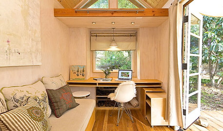 Houzz TV: Step Inside One Woman's 140-Square-Foot Dream Home