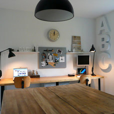 Eclectic Home Office by gallery.apartmenttherapy.com