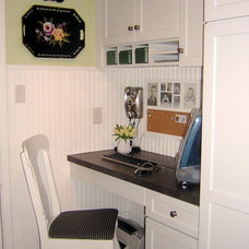 Eclectic Home Office Vintage Inspired Kitchen