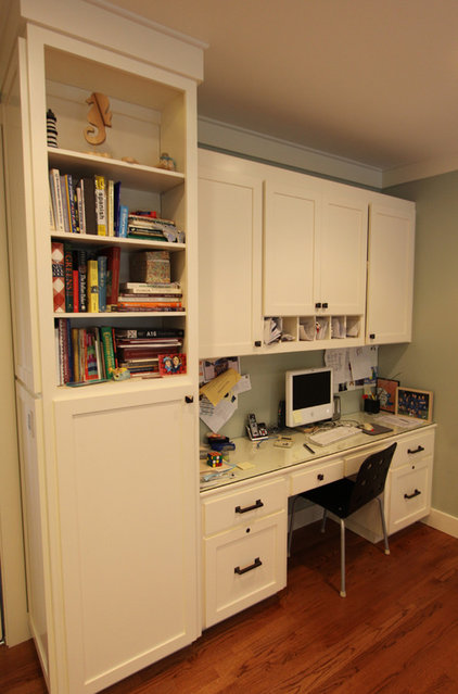 Traditional Home Office by Nunley Custom Homes