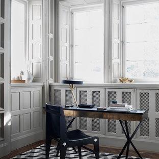 Inspiration för ett minimalistiskt arbetsrum