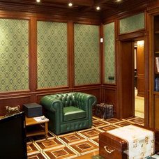 Traditional Home Office by Lompier Interior Group