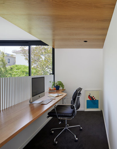Contemporary Home Office by Andrew Child Architecture