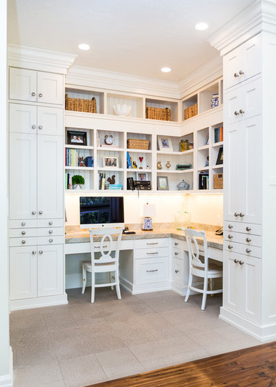 Traditional Home Office by Millcreek Cabinet and Design