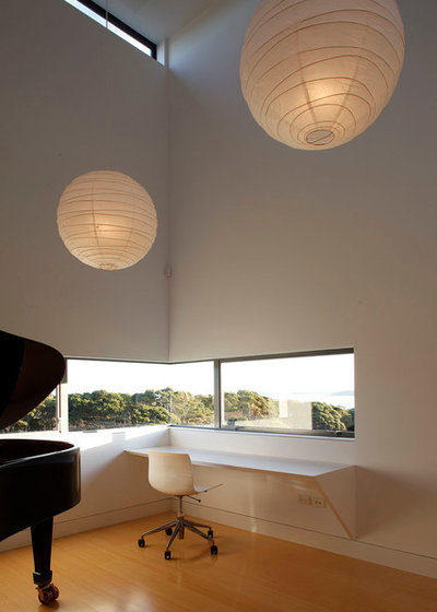 Minimalistisch Arbeitszimmer by Mitchell Stout Dodd Architects