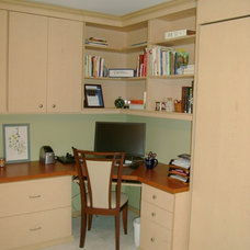 Traditional Home Office by Shelley Bright Design Services
