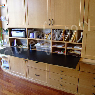 Wall unit with drop down desk
