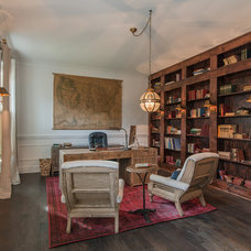 Transitional Home Office by Vintage South LLC