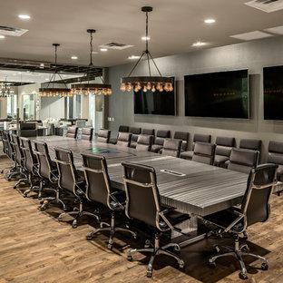 Home office - modern home office idea in Phoenix