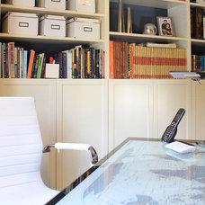 Contemporary Home Office by Jami Abbadessa