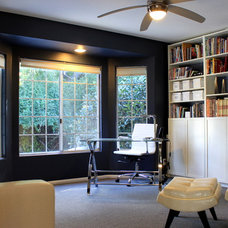 Contemporary Home Office by Jami Abbadessa