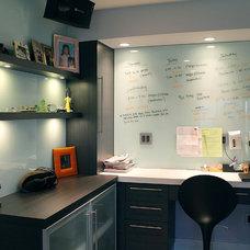 Modern Home Office by Soho Kitchen Studio Inc.