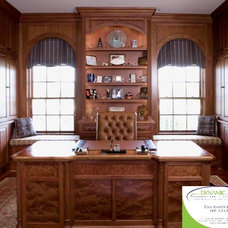 Traditional Home Office by Dynamic Kitchen and Interiors