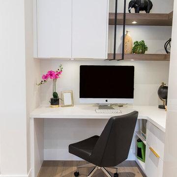 Warm modern executive home