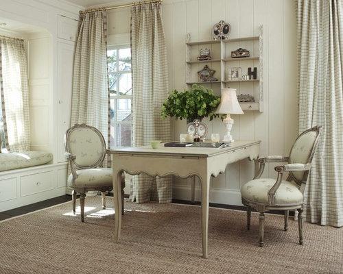 Bureau romantique photos et id es d co de bureaux - Bureau style romantique ...