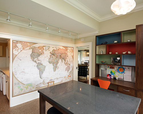 Best Wall Map Design Ideas & Remodel Pictures | Houzz