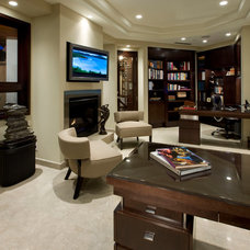 Traditional Home Office by Kollin Altomare Architects