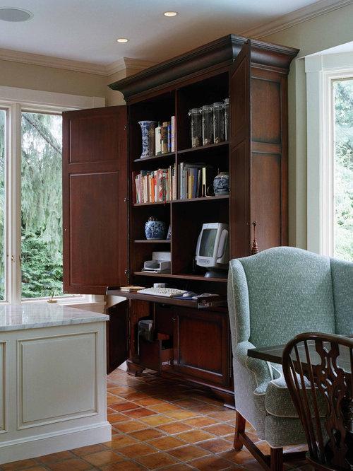 ... Home Office Desk Armoire