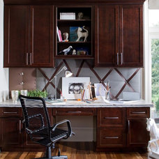 Traditional Home Office by Great Kitchens & Baths